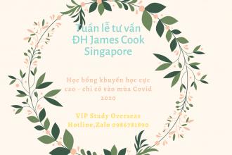 Tuần lễ tư vấn: Đại học James Cook Singapore – Lựa chọn học tập hiệu quả và tiết kiệm mùa Covid