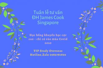Tuần lễ tư vấn: Nhận học bổng khuyến học cao tại Singapore